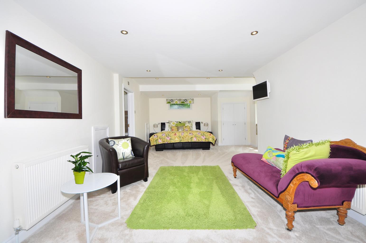 bývanie, miestnosť, interiér