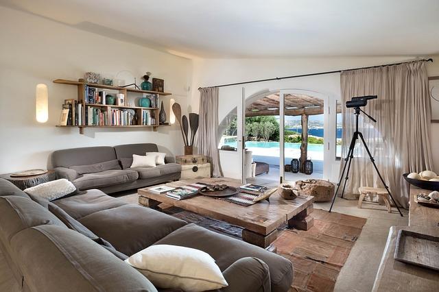 Zariaďovanie obývačky