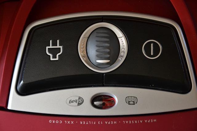 tlačítka vysavače